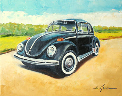 Painting - Vw Beetle by Luke Karcz