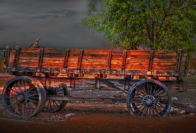 Photograph - Wagons East by Gunter Nezhoda