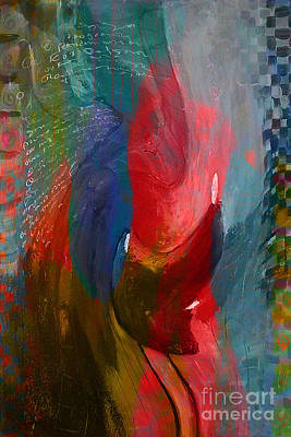 Abstract Mixed Media - Wall Art by Marvin Blaine