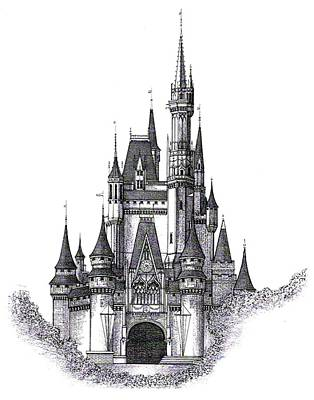 Walt Disney World Cinderella Castle Original by Charles Ott