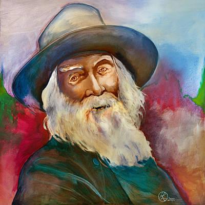 Walt Whitman Art Print by Robert Lacy