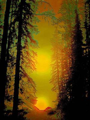 Warming Sunrise Art Print