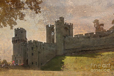 Warwick Castle Photograph - Warwick Castle by Linsey Williams