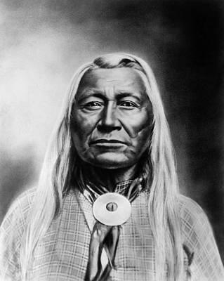 Washakie Photograph - Washakie (1804-1900) by Granger