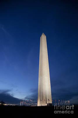 Photograph - Washington Monument by Jim West