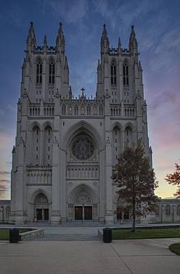 Photograph - Washington National Cathedral by Susan Candelario