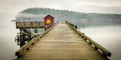 Freedmen Photograph - Washington, San Juan Islands, Stuart by Matt Freedman