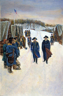 Washington: Valley Forge Art Print by Granger
