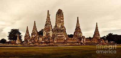 Wat Chaiwatthanaram Ayutthaya  Thailand Art Print by Fototrav Print