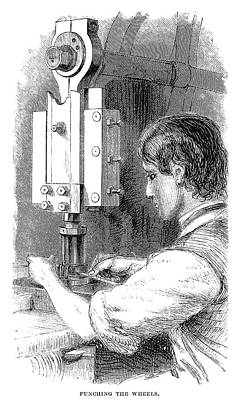Watchmaker, 1869 Art Print by Granger