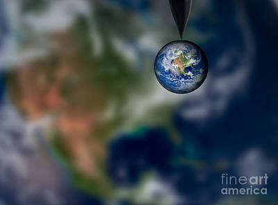 Photograph - Water And Earth by Susan Candelario
