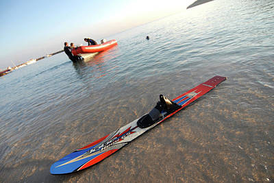 Wakeboard Photograph - Water Ski And Wakeboard In Ibiza by Nano Calvo