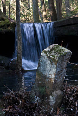 Photograph - Waterfall At The Ruins by Douglas Barnett