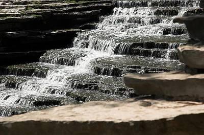 Michigan Photograph - Waterfall by Gary Marx