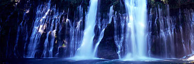 Macarthur Wall Art - Photograph - Waterfall In A Forest, Mcarthur-burney by Panoramic Images