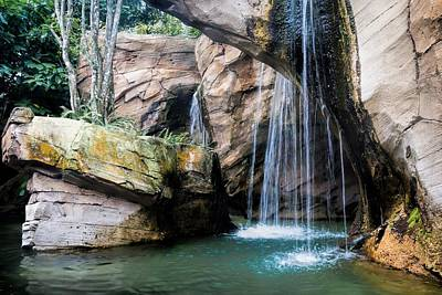 Photograph - Waterfall by Rudy Umans