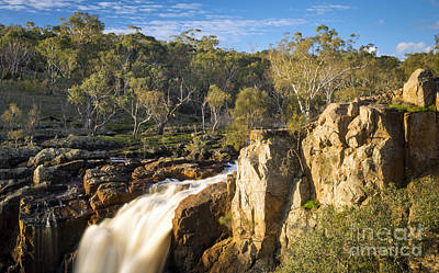 Waterfall Photograph - Waterfall by Tim Hester
