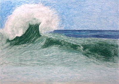 Wall Art - Painting - Wave by Cybele Chaves