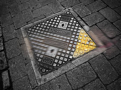 Grate Painting - Way by Charles Stuart