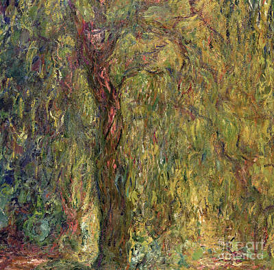 Weeping Willow Painting - Weeping Willow by Claude Monet