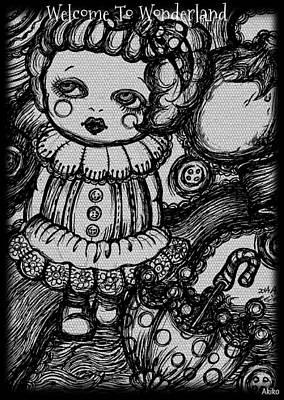 Welcome To Wonderland Art Print