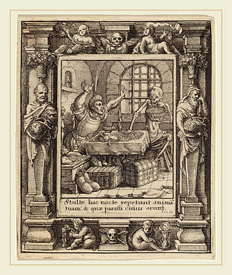 Wenceslaus Hollar After Hans Holbein The Younger Print by Litz Collection