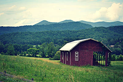 Western North Carolina Farm Art Print