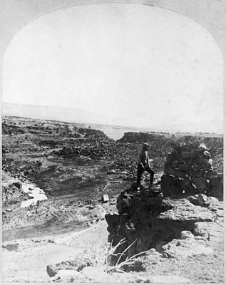 Blackwater Canyon Photograph - Wheeler Expedition, 1873 by Granger