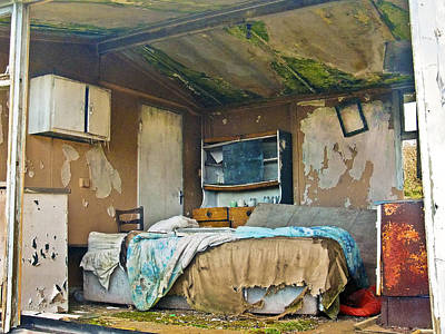 Where Do They Sleep Now Art Print by Tony Reddington