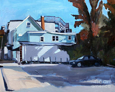 South Boston Painting - Where's The Dog by Deb Putnam