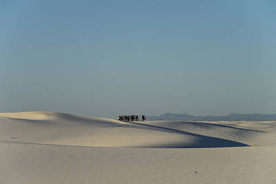 Photograph - White Sands National Monument, Nm by Mark Newman
