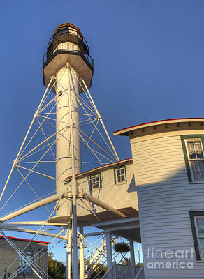 Whitefish Photograph - Whitefish Point Lighthouse by Twenty Two North Photography