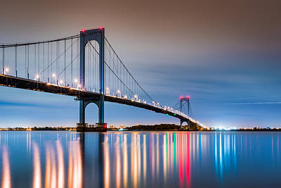 Whitestone Bridge Art Print
