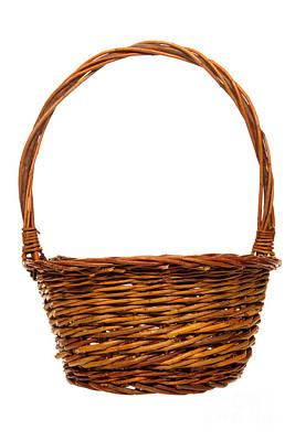 Photograph - Wicker Basket Number Twelve by Olivier Le Queinec