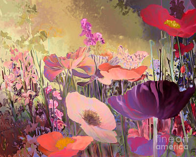 Painting - Wild Garden by Ursula Freer