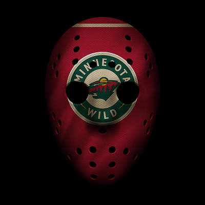 Skating Photograph - Wild Jersey Mask by Joe Hamilton