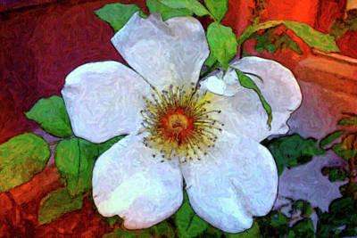 Digital Art - Wild Rose by Sandra Selle Rodriguez