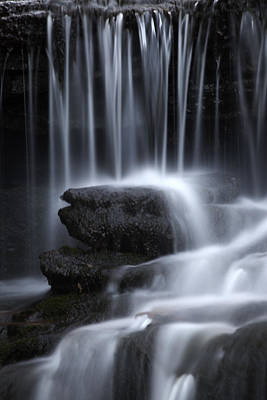 Photograph - Wilderness Waterfall by John Stephens