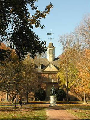 William And Mary College Art Print