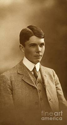 Lawrence University Photograph - William Lawrence Bragg, British Physicist by Royal Institution Of Great Britain