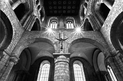 Photograph - Winchester Cathedral by Steven Poulton