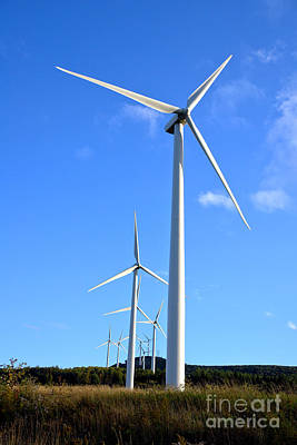Photograph - Wind Turbine Farm  by Olivier Le Queinec