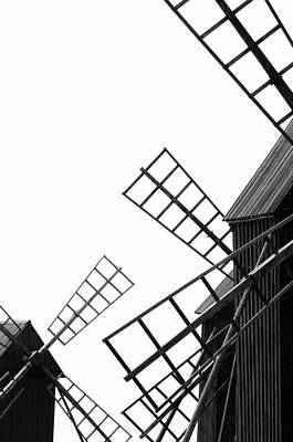 Photograph - Windmill by Tommytechno Sweden