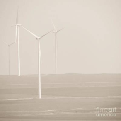 Windmills Art Print by Gabriela Insuratelu