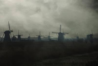 Windmills Art Print by Joana Kruse