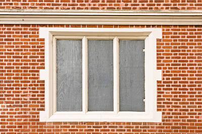 Window Frame Art Print by Tom Gowanlock