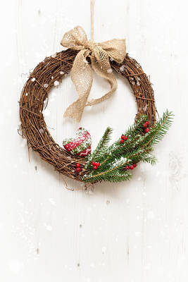 Photograph - Winter Garland by Amanda Elwell