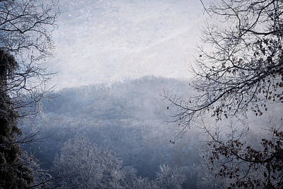 Photograph - Winter Landscape by Melinda Fawver