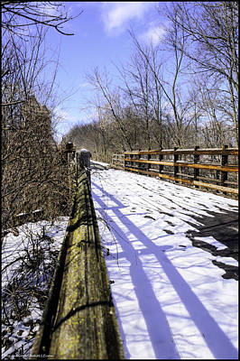 Photograph - Winter On Macomb Orchard Trail by LeeAnn McLaneGoetz McLaneGoetzStudioLLCcom