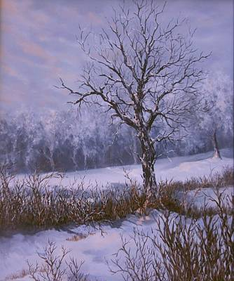 Painting - Winter Slumber by Lynne Wright